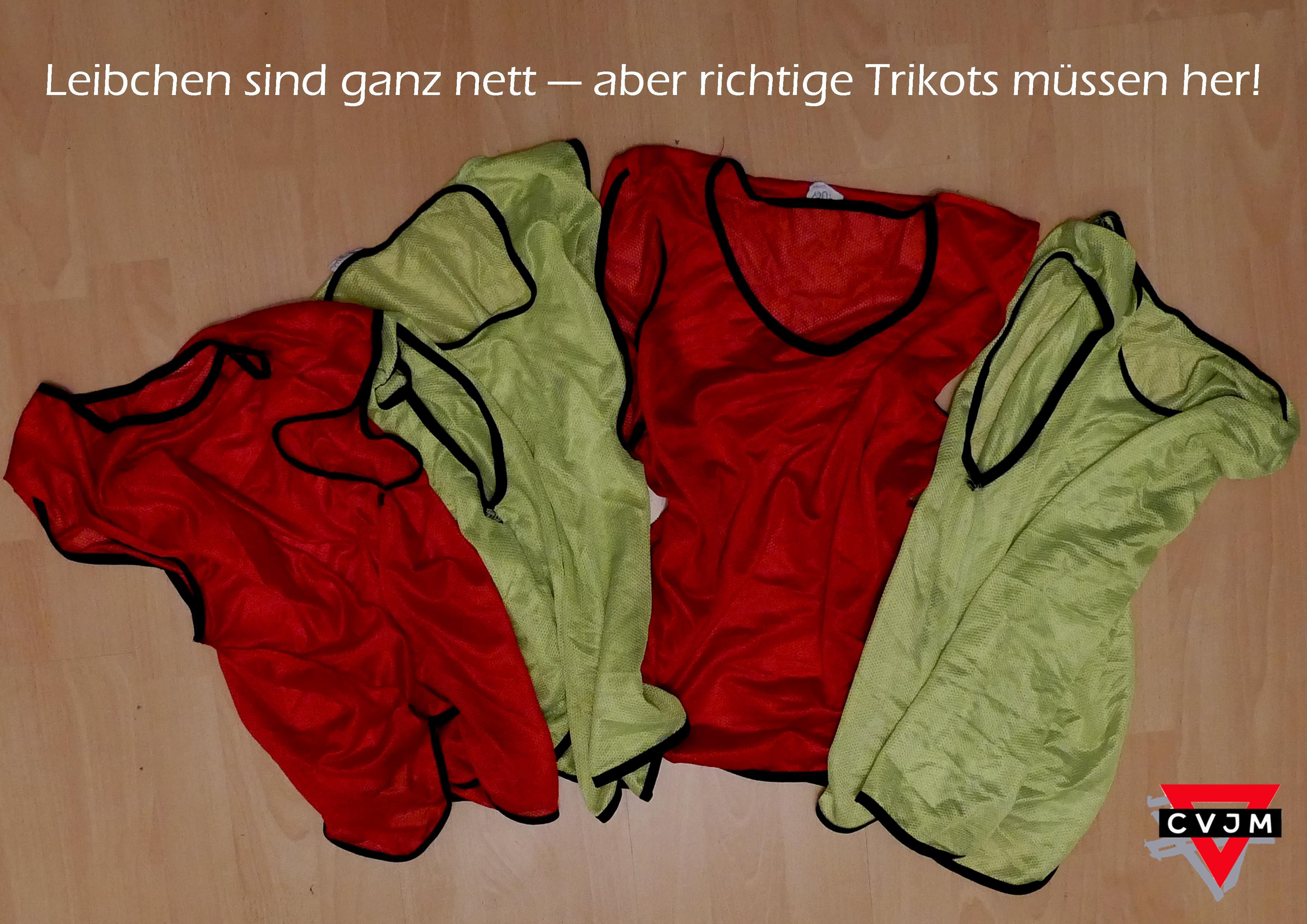 quality design c0d37 c3cfd Velbert zeigt Herz - Trikots für unsere neue CVJM ...